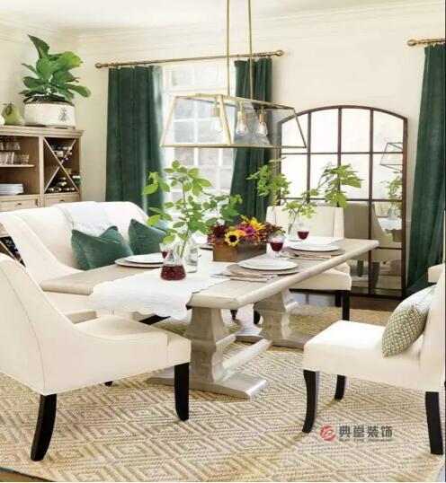 如何使用窗帘来改变房间的色彩