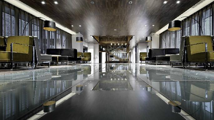 高大上的售楼中心,完美诠释现代风格